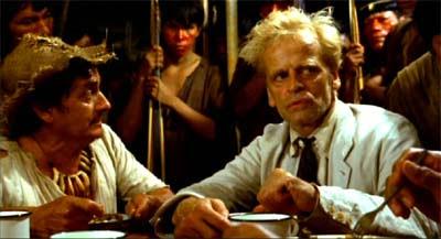 Klaus Kinski in Werner Herzog's Fitzcarraldo.