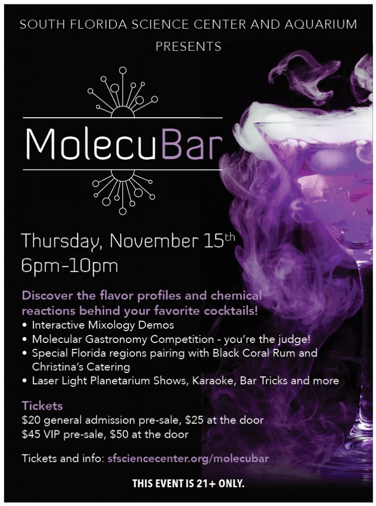 Flyer- MolecuBar at SFSCA 2018